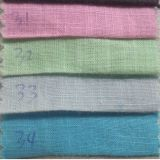 21s*21s Weight: 140G/M2 Cotton Slub Fabric for Skirt, Summer Pants, Shirt