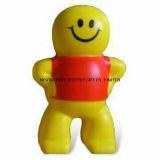 Wholesale PU Foam Stress Toy Smiling Boy Design Gadgets Price