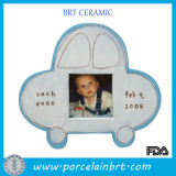 Best Memory Blue Car Ceramic Picture Frame
