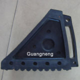 Black Rubber Wedge, Car Rubber Wedge, Rubber Block, Rubber Stopper, Wheel Chock Rubber Stopper