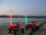 4′ Night Stalker LED Lighted Whip ATV UTV off Road Sand Dunes Flag LED Whip