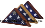 New Wooden Flag Display Case for Home Decoration