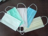 China Hot Sale 3 Ply Surgical Non Woven Face Mask Light Blue/Pink/White