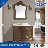 High Quality Solid Wooden Antique Furniture Bathroom Cabinet
