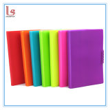 A5 Size Silicone Cover Plain Notebook Wholesale