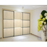 Oppein Sliding 3 Door Simple Wood Wardrobe (OP-YG21149)