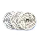 Diamond Wet Spiral Polishing Pad for Stone