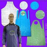 Waterproof Medical/Hospital/Dental/PP/Nonwoven/Poly/HDPE/LDPE/Plastic Disposable PE Apron for Food Processing Industry Service/Hotel/Restaurant Cooking/Safety