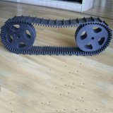 Robot Rubber Track (76*12.7*120) with Light Weight