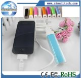 New Lipstick Portable Power Bank External Battery Charger Power Pack for Samsung/ iPhone Mobile Phone
