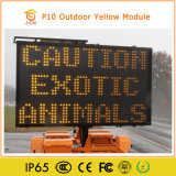 P10 Outdoor Single Color LED Moving Message Board