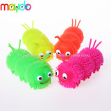 TPR Light up Puffer Ball Flashing Caterpillar Soft Plastic Toy