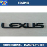 Black Badge Car Logo ABS Plastic Emblem For LEXUS