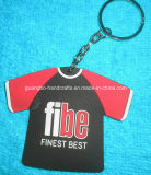 Custom Promotional Soft PVC Keyring Key Ring Keychain Key Chain