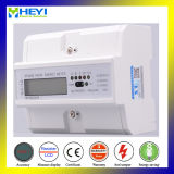 Three Phase DIN Rail 4 Channel DC Energy Meter