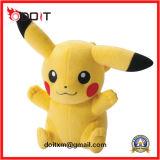 Customized Yellow Pokemon Soft Baby Stuffed Animal Plush Toys Wholesale