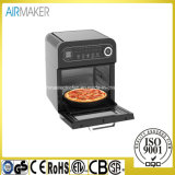 Kitchen Bakery Oven 1 Layer Stainless Steel Body Pizza Oven Commercial with Time Control
