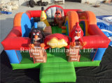 New Design Inflatable Angry B Combo for Sale (RB3092)