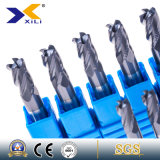 1/2/3/4/5/6/7 Flute Solid Carbide Corner Rounding End Milling Cutter
