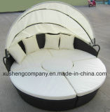 Outdoor Furniture Kd Alu Rattan Round Daybed