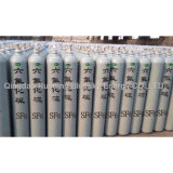 150 Bar 50 L Steel Gas Cylinder with Sulfur Hexafluoride