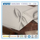 Jacquard Weave Cream Polyester Fabric for Home Textile