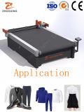 Cloth Dress Making Knife Cutting Machine Price Round Knife Textile Cutting Machine