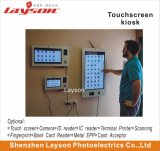 32 Inch LCD Advertising Player Network WiFi HD Digital Signage LED Display Touch Screen Monitor Information Interactive Terminal Self Service Bill Payment Kiosk