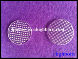 Hot Sell Further Process Bore Quartz Glass Discs