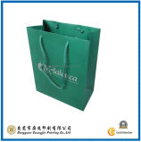 Green Color Paper Shopping Bag (GJ-Bag196)
