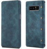 Magnetic Flip Case PU Leather Phone Case for Samsung Note8