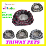 High Quaulity Cheap Snuggle Dog Cat Pet Beds (WY161074-1A/C)