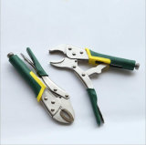 Hand Tool Curved Jaw Locking Pliers with TPR Handle