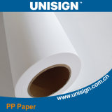 Waterproof Matt PP Paper, Compatible with Pigment Ink, PP Rolls for Inkjet Printing