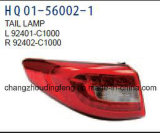 Auto LED Tail/ Back Lamp for Hyundai Sonata 2014-2016 #OEM-Part-Number: 92401-C1000/92402-C1000/92403-C1000/92404-C1000