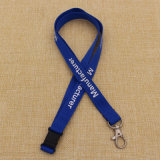 Wholesale Cheapest Polyester Printed Custom Lanyard with Safety Buckle