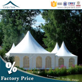 Good Quality Luxury Marquee 100 Seaters Pagoda Tent with Roof Linings