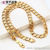 China Wholesale Xuping Special Price 18k Gold-Plated Men's Necklace