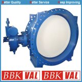 Actuated Double Eccentric Double Flange Butterfly Valve