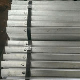 Hot Dipped Galvanized Types of Steel Iron Angle Bar with Hole for Electric Power Tower