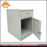 Hospital Mobile Metal Bedside Table Nightstand Bedroom Furniture Cabinet