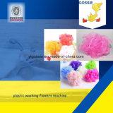 PE Knotless Net Making Colorful Bath Flower Glove Machine