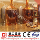 500L Exhibition Standard Red Copper Beer Brewing Equipment