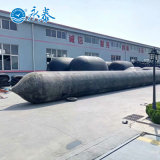 High Performance Inflatable Salvage Balloons Marine Rubber Airbags for Ship Launching