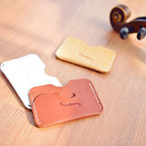 Custom Handmade Cow Leather Holder ID Card 10*6.5cm