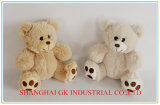 Beige and Grey Plush Doll Plush Toy Teddy Bear