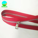 Wholesale Price Custom Closed End Y Teeth Metal Stainless Steel Zipper Long Chain for Clothes