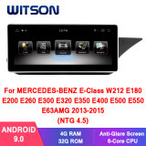 Witson Android 9.0 Car Multimedia Player for Mercedes-Benz E-Class Sedan W212 2013-2015 (NTG4.5) Vehicle Radio