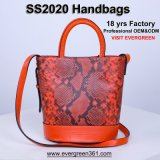 Genuine Real Leather Women Bag Ladies Tote Bags Top Quality Lady Sling Bag Fashion Designer Shoulder Bag Wholesale Guangzhou Luxury Brand Clutch Bag Factory OEM