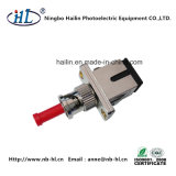 St/Male-Sc/Female Optic Fiber Hybrid Converter Male to Female